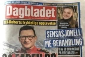 Aviser; Dagbladet, ny sensasjonell behandling (2)