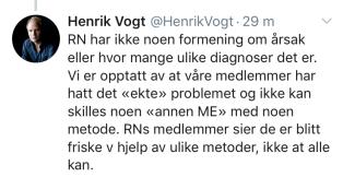 Vogt; Hatt det ekte problemet (2)