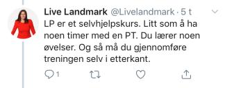 LL; selvhjelpskurs