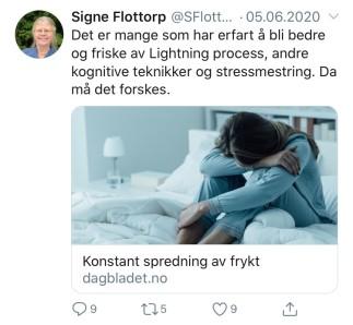 Signe Flottorp; forske LP